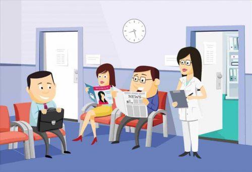 Khi mụn nhọt có di chứng xấu, bạn nên tới cơ sơ y tế khám bệnh kịp lúc